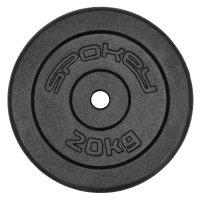Závaží na činku Spokey Sinis litina 20kg/28mm
