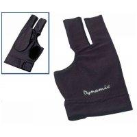 Kulečníková rukavice Dynamic černá 3-prstá