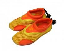 Dětské neoprenové boty do vody Alba žlutooranžové 22-27
