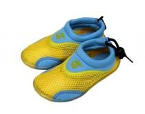Dětské neoprenové boty do vody Alba žlutomodré 22-27
