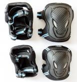 Chrániče kolen a loktů Micro - L černé