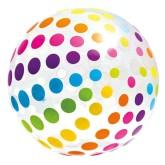 Nafukovací míč Intex tečky 107cm