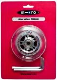 Kolečko Micro 100 mm čiré s ložisky