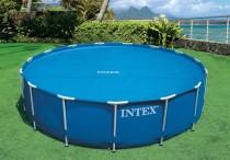 Bazénová plachta Intex Solar 305cm