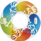 Kruh Intex velký Intex 58202 Color s držadlem 122cm