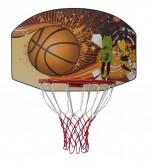 Basketbalová deska 90 x 60 cm s obroučkou
