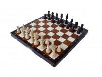 Šachy dřevěné cestovní magnetické