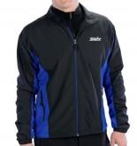Pánská sportovní bunda SWIX Track black/royal blue