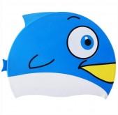Plavecká silikonová čepice Spurt Ryba