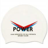 Plavecká silikonová čepice SPURT 651 bílá
