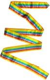 Gymnastická stuha Sedco 6m duha