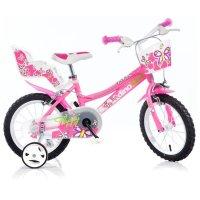 Dětské kolo Dino 166R růžové 16