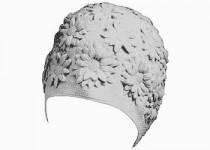 Koupací čepice Effea Margerita - bílá