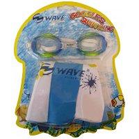 Sada Wave dětské plavecké brýle + nafukovací kruh