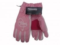Dětské zimní rukavice Mees Cool Zone - růžové