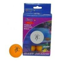 Míčky na stolní tenis Dragon Cup - 6ks