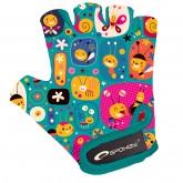 Dětské cyklistické rukavice Spokey Bumblebbe