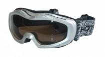 Lyžařské brýle Brother stříbrné