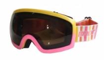 Lyžařské brýle Brother růžové