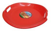 Sáňkovací talíř Tornádo - červený 54cm
