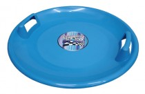 Plastový talíř Acra Superstar - modrý