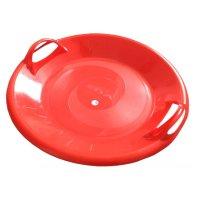 Plastový talíř Acra A2034 Superstar červený 60cm