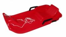 Plastový bob Acra UFO - červený