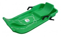 Plastový bob Acra UFO - zelený