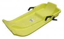 Plastový bob Acra UFO - žlutý