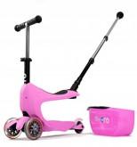 Micro Mini2go Deluxe Plus - růžová (pink)