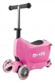 Micro Mini2go Deluxe - růžová (pink)