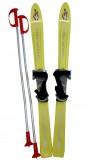 Dětské lyže Baby Ski s vázáním - žluté 90 cm