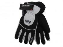 Pánské lyžařské rukavice Action GS407 černé