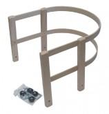 Ohrádka na sáně dřevěná + kování Acra A2050
