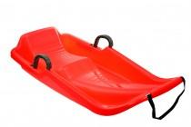 Plastový bob Sulov - Olympic červený