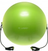 Gymnastický míč s expanderem LIFEFIT GYMBALL EXPAND 65cm