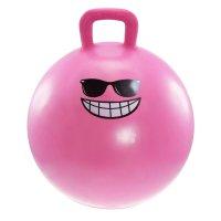 Dětský skákací míč Lifefit Jumping Ball 55cm růžový