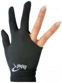 Kulečníková rukavice Rebell černá - universal