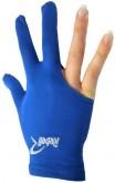Kulečníková rukavice Rebell modrá - universal