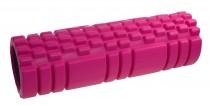 Masážní válec Lifefit Joga Roller A11 - 45 x 14 cm růžový