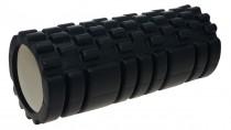 Masážní válec Lifefit Joga Roller A01 - 33 x 14 cm černý