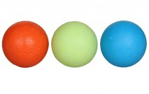 Posilovací míčky LiveUp Grip Ball - 3ks