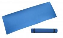 Gymnastická podložka ACRA D81 modrá 4mm