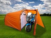 Stan pro 4 osoby Rulyt Biker s předsíňkou pro motocykl