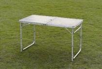 Skládací kempingový stůl TSS 120x60x70cm