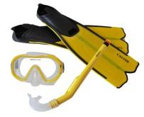 Potápěčský set Calter Kids S06+M168+F41 PVC žlutý