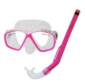 Potápěčský set CALTER KIDS S06+M278 PVC, růžový