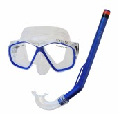 Potápěčský set Calter Kids S06+M278 PVC modrý
