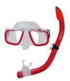 Potápěčský set Calter Junior S9301+M229 P+S červený