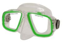 Potápěčská maska Calter Senior 229P zelená